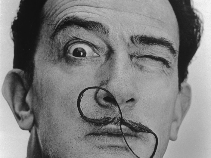 ÊSpanish painter Salvador DALI.